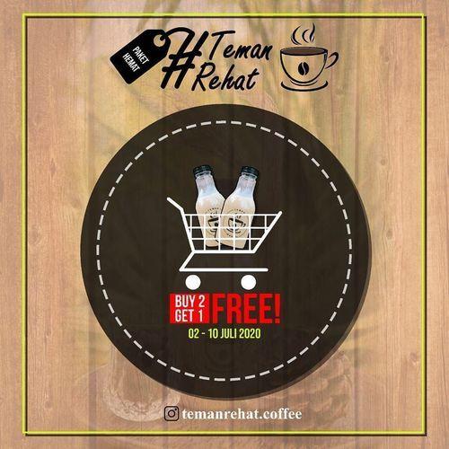 TEMAN REHAT COFFEE PROMO BUY 2 GET 1 (26693487) di Kota Jakarta Selatan
