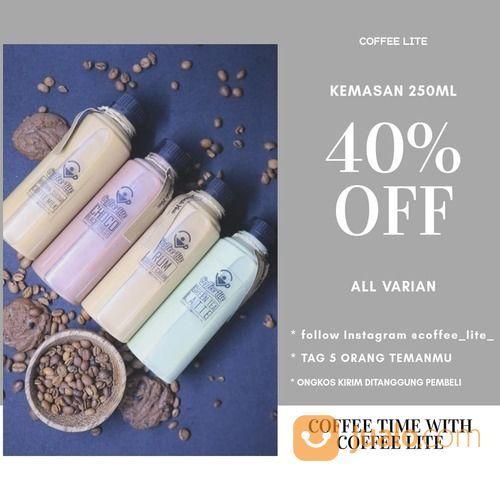 COFFEE LITE PROMO 40% OFF (26693703) di Kota Jakarta Selatan