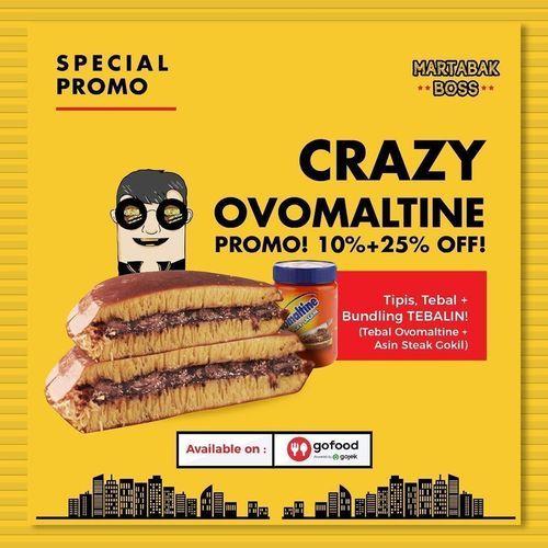 Martabak Boss Crazy Ovomaltine (26693883) di Kota Jakarta Selatan