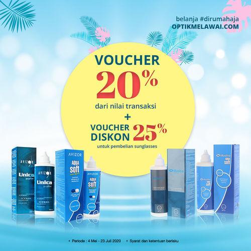 Optik Melawai Promo Solution Voucher 20% (26707447) di Kota Jakarta Selatan