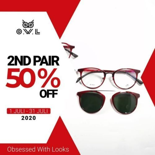 OWL EYEWEAR 2nd Pair 50% Off (26707479) di Kota Jakarta Selatan