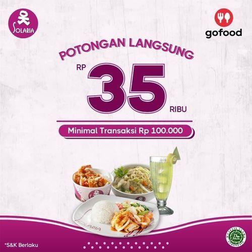 Solaria Resto Promo Langsung Rp. 35.000 (26738255) di Kota Jakarta Selatan