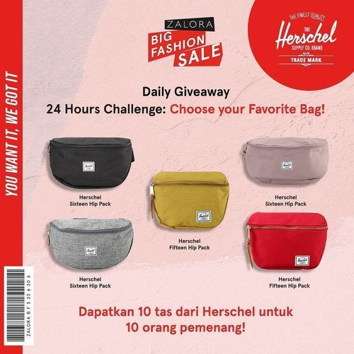 ZALORA Big Fashion Sale Daily Giveaway LAST DAYY! (26743523) di Kota Jakarta Selatan
