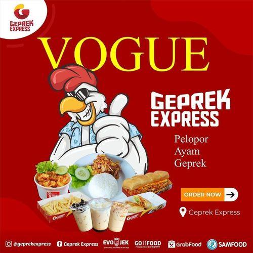 GEPREK EXPRESS HADIR DI GRABFOOD GOFOOD SAMFOOD EVOJEK (26743539) di Kota Jakarta Selatan