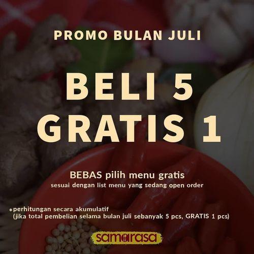 PROMO SAMARASA BELI 5 GRATIS 1 (26744455) di Kota Jakarta Selatan