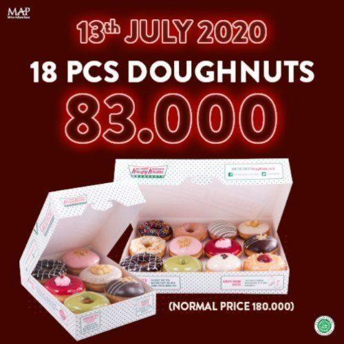 Krispy Kreme Promo Birthday (26744815) di Kota Jakarta Selatan