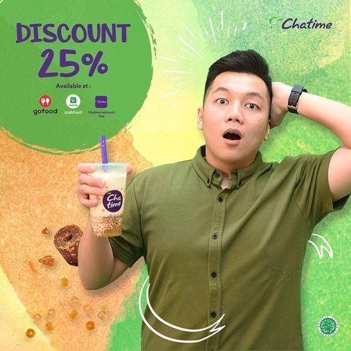 Chatime Promo Discount 25% (26744875) di Kota Jakarta Selatan