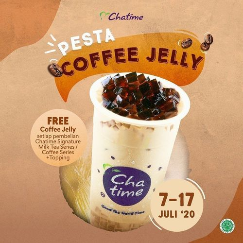 CHATIME PROMO FREE Coffee Jelly (26755963) di Kota Jakarta Selatan