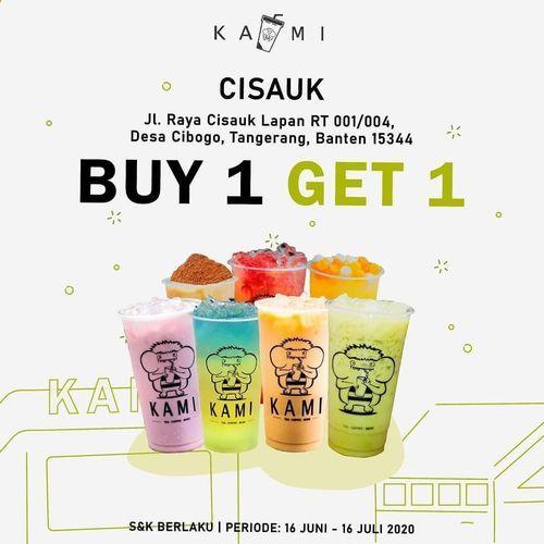 KAMI DRINKS PROMO BUY 1 GET 1 (26756071) di Kota Jakarta Pusat