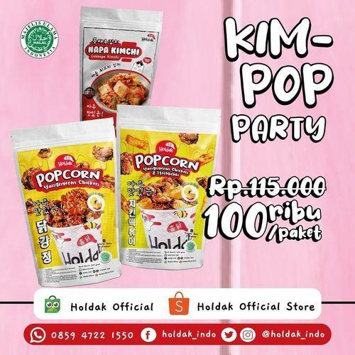 HOLDAK PROMO KIM-POP PARTY 100.000/PAKET (26759447) di Kota Jakarta Selatan