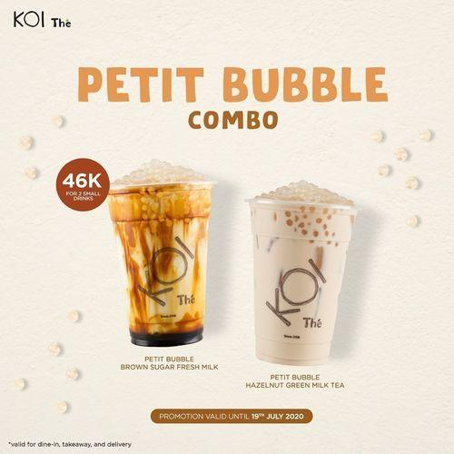 KOI Petit Bubble Combo (26760439) di Kota Jakarta Selatan