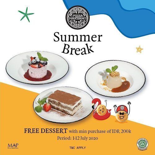 Pizza Marzano Summer Break Special Offer (26760483) di Kota Jakarta Selatan