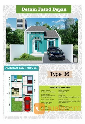 Rumah Syariah Siap Huni Kota Malang Free SHM (26761603) di Kota Malang