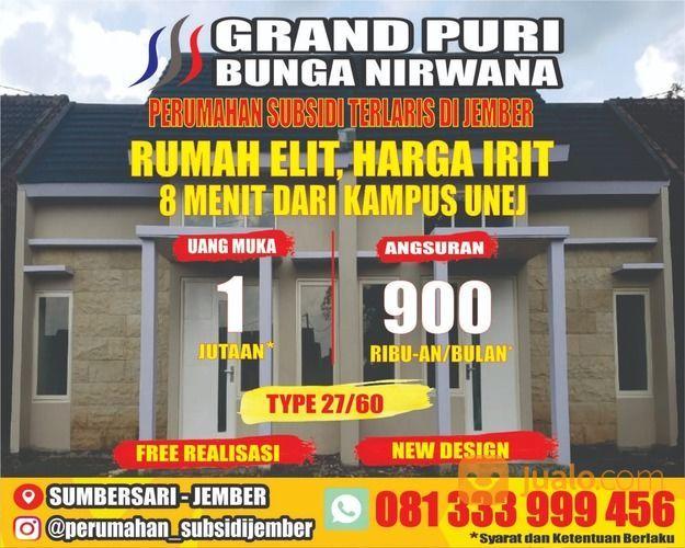 RUMAH SUBSIDI JEMBER GRAND PURI BUNGA NIRWANA SUMBERSARI (26762679) di Kab. Jember