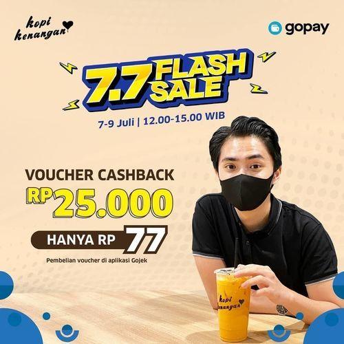PROMO KOPI KENANGAN FLASH SALE Voucher Cashback (26773859) di Kota Jakarta Selatan