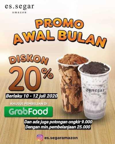 ES.SEGAR PROMO DISKON 20% VIA GRABFOOD (26774599) di Kota Jakarta Selatan