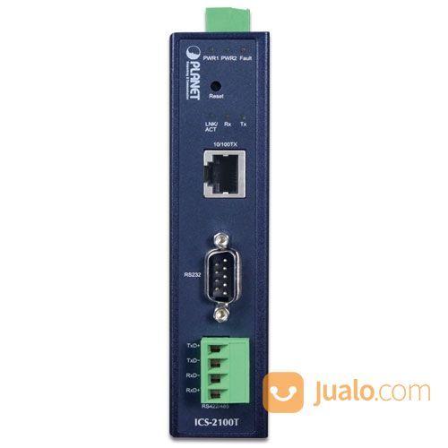 PLANET ICS-2100T Industrial 1-Port RS232/RS422/RS485 Serial Device Server (26775931) di Kota Jakarta Pusat