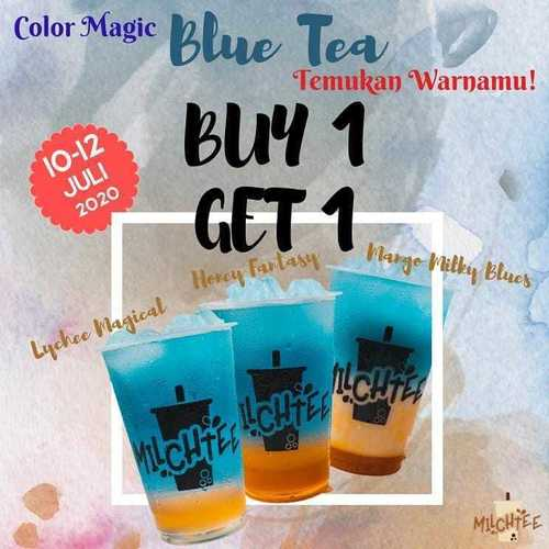 MILCHTEE PROMO BUY 1 GET 1 BLUE TEA (26786327) di Kota Jakarta Selatan