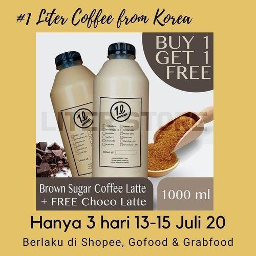 THE LITER PROMO BUY 1 GET 1 FREE HANYA 3 HARI (26787639) di Kota Jakarta Selatan