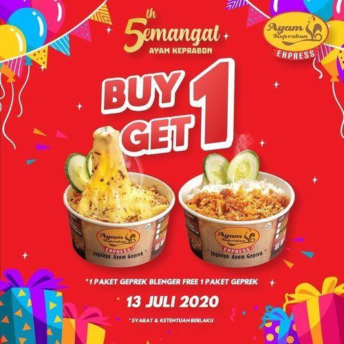 Ayam Keprabon Buy 1 Get 1 Free (26788955) di Kota Jakarta Selatan