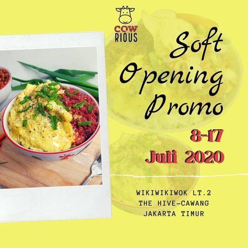 Cowrius Soft Opening Promo (26789055) di Kota Jakarta Selatan