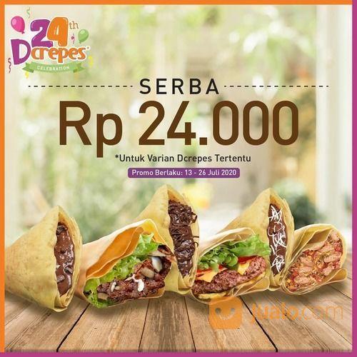 Dcrepes Promo Serba Rp. 24.000 (26791723) di Kota Jakarta Selatan