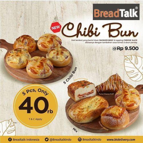 Breadtalk Promo 5Pcs Only 40 Rb (26792055) di Kota Jakarta Selatan