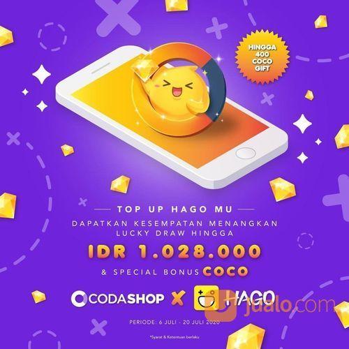 CODASHOP PROMO LUCKY DRAW DENGAN TOPUP DIAMONDS HAGO (26799487) di Kota Jakarta Selatan
