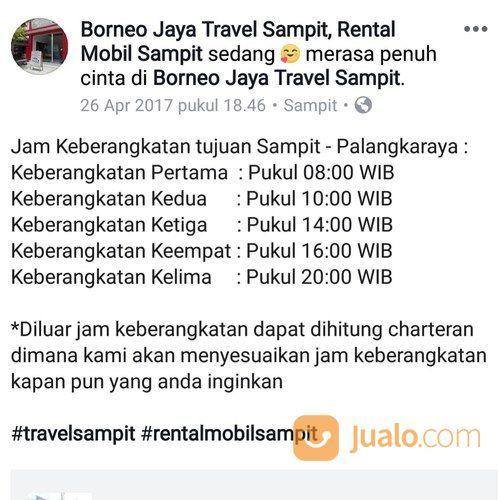 Agen Travel Sampit Ke Palangkaraya Terpercaya (26799903) di Kab. Kotawaringin Timur