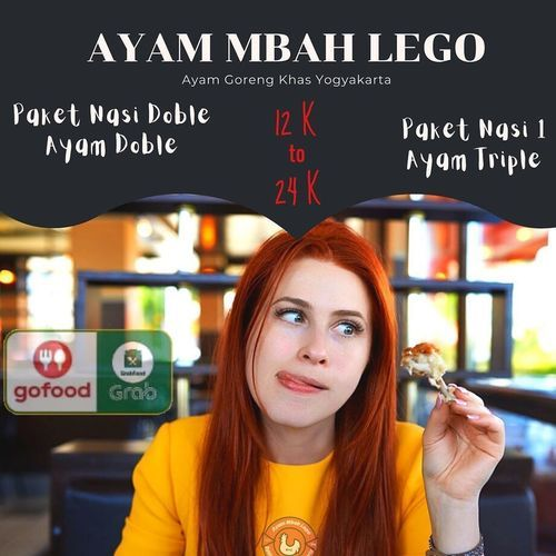 PROMO AYAM MBAH LEGO PAKET DOBLE DOBLE VIA GRABFOOD DAN GOFOOD (26801759) di Kota Jakarta Selatan