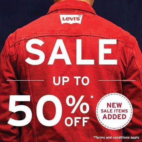 Levi's Indonesia Sale Up To 50% Off (26843743) di Kota Jakarta Selatan