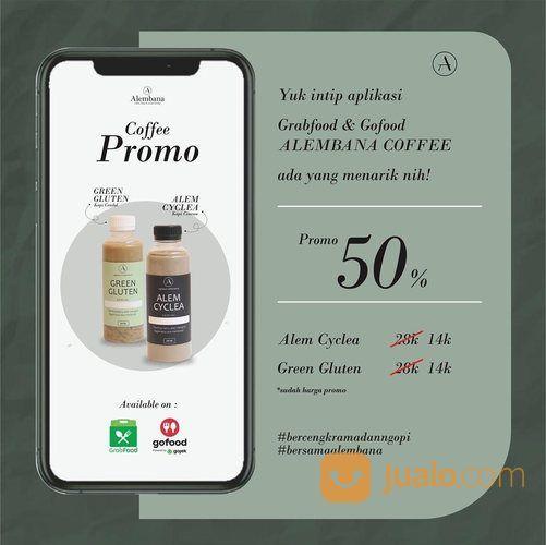 ALEMBANA COFFEE PROMO DISKON 50% (26846307) di Kota Jakarta Selatan