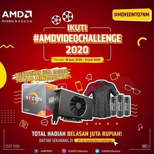 AMD INDONESIA VIDEO CHALLENGE TOTAL HADIAH BELASAN JUTA RUPIAH (26848131) di Kota Jakarta Selatan