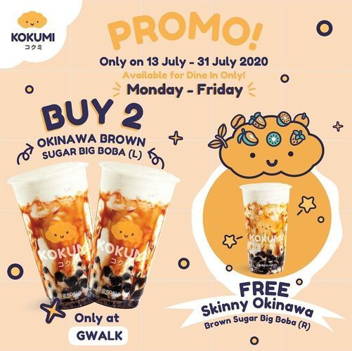 KOKUMI PROMO BUY 2 GET 1 FREE (26849215) di Kota Jakarta Selatan