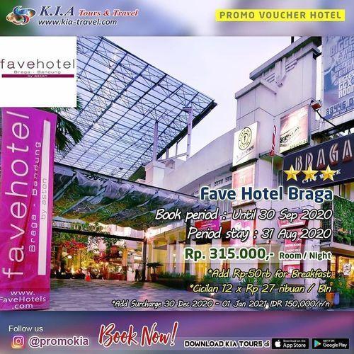 Kia Tours Promo Fave Hotel Braga Jakarta Selatan Jualo