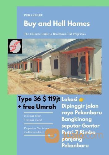 Rumah Semicluster Siap Huni Cantik Lokasi Strategis Dan Termurah Se Riau (26876103) di Kota Solok