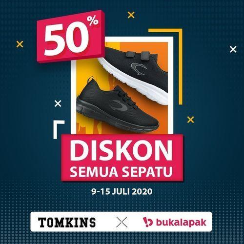 Tomkins Diskon Semua Sepatu 50% (26925143) di Kota Jakarta Selatan