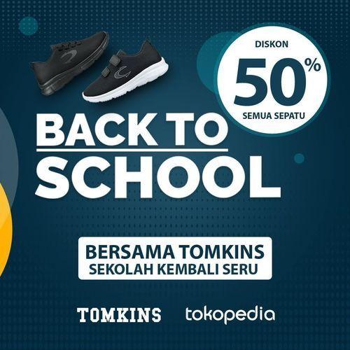 Tomkins Diskon 50% Back To School (26925211) di Kota Jakarta Selatan