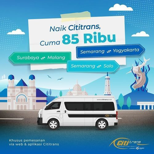 Blue Bird Naik Cititrans Cuma 85 Ribu (26925287) di Kota Jakarta Selatan