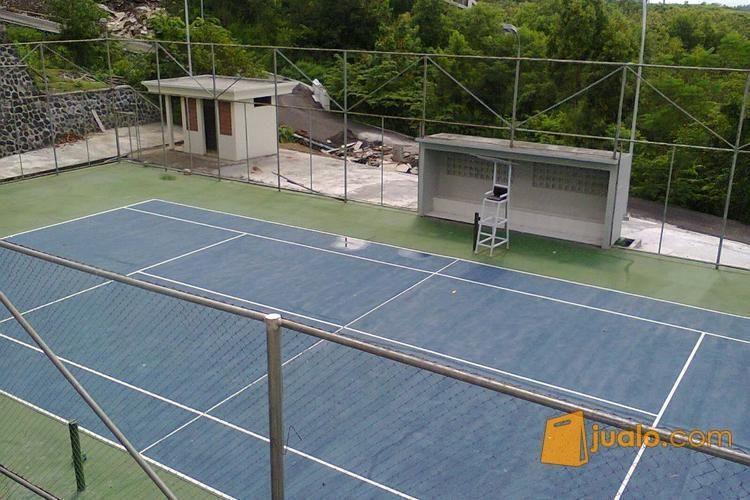 Pembuatan lapangan te olahraga bulutangkis tennis 2693060