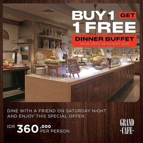 Grand Hyatt Buy 1 Get 1 Free (26936763) di Kota Jakarta Selatan