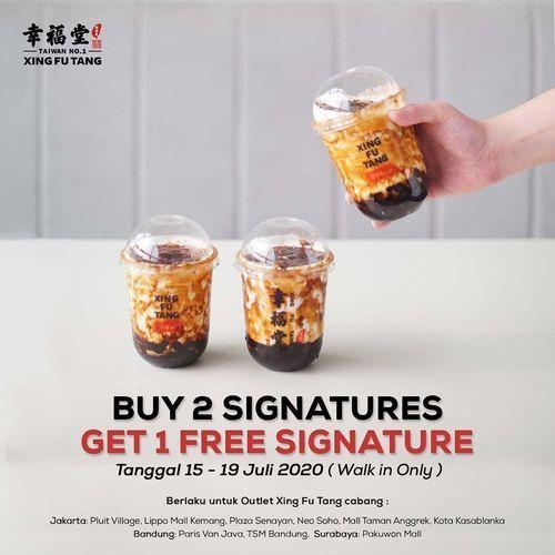 Xing Fu Tang Buy 2 Signatures Get 1 Free Signature (26942903) di Kota Jakarta Selatan