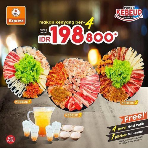 BBQ FRENZY EXPRESS PROMO MAKAN KENYANG BER-4 (26953887) di Kota Surabaya
