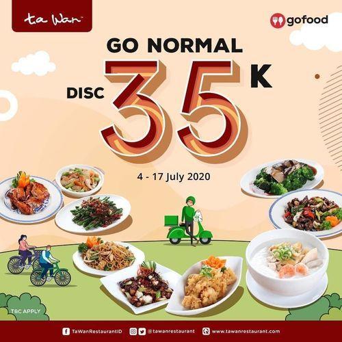TA WAN DISKON VIA GOFOOD DISKON 35K (26956147) di Kota Jakarta Selatan
