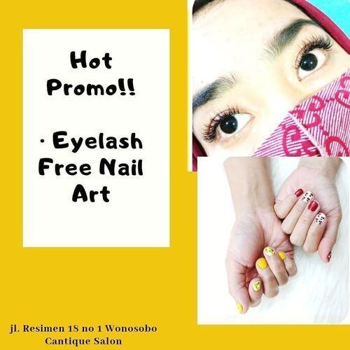 CANTIQUE SALON PROMO EYELASH FREE NAIL ART (26956639) di Kota Yogyakarta