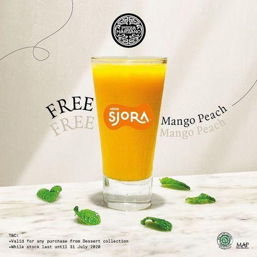 Pizza Marzano Free Mango Peach (26959547) di Kota Jakarta Selatan