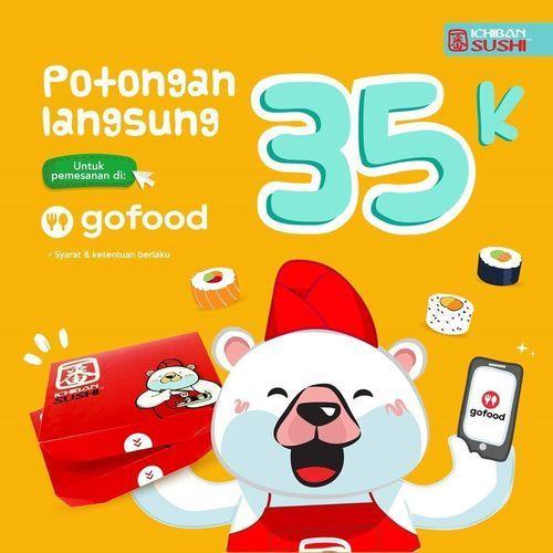 Ichiban Sushi Potongan Langsung 35k (26959571) di Kota Jakarta Selatan