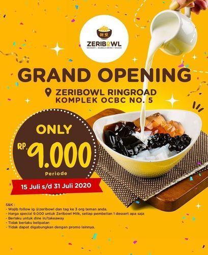 ZERIBOWL PROMO GRAND OPENING (26980427) di Kota Medan