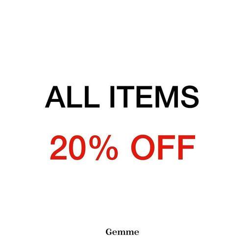 GEMME Clothing All items 20% Off (26992387) di Kota Jakarta Selatan