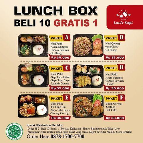 Lau's Kopi Launch Box Beli 10 Gratis 1 (26997455) di Kota Jakarta Selatan